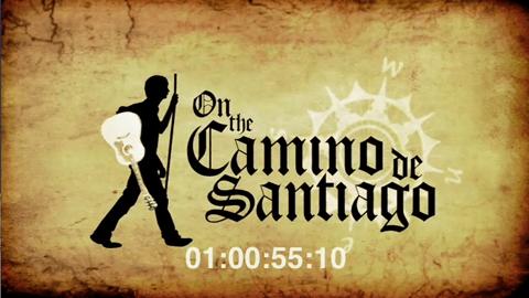 """Logo de """"On the Camino de Santiago"""""""