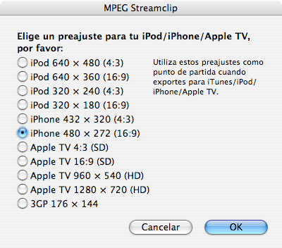 opciones_mpeg4