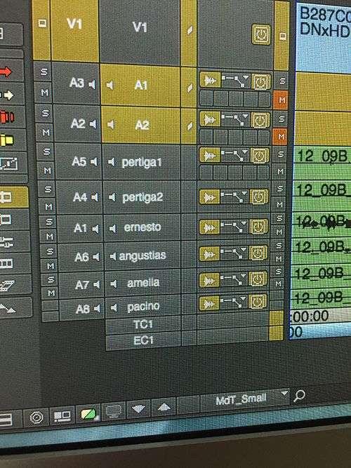 pistas de audio