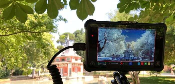 ESPECIAL: Grabación infrarroja con la Panasonic EVA1