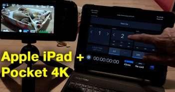 VÍDEO: Controlando la Pocket Cinema Camera 4K vía Bluetooth