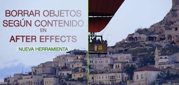 TUTORIAL: Borrar objetos según contenido en After Effects