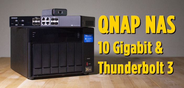 REVIEW: Soluciones 10GbE y Thunderbolt de QNAP para posproducción